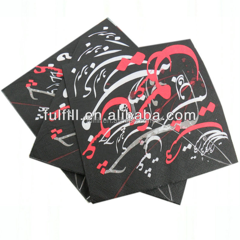 Wholesale hand towel paper printing paper napkins