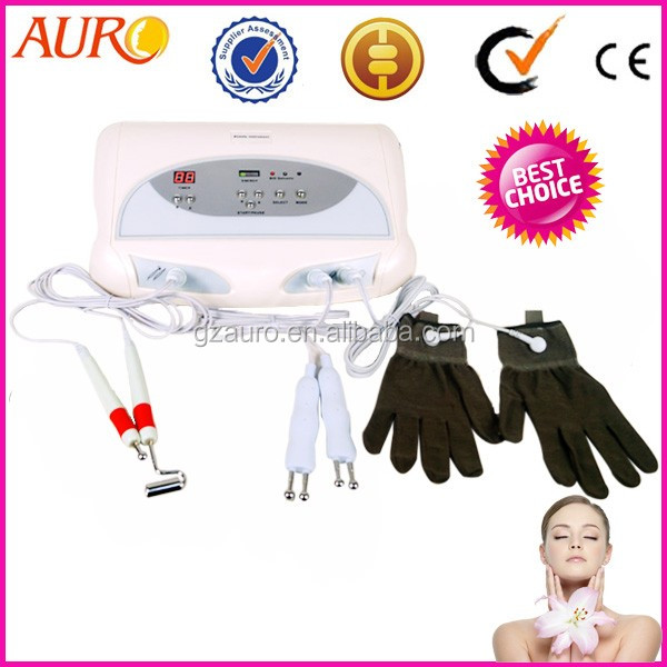 microcurrent Magic gloves facial skin tightening machine Au-8403