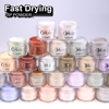 Wholesale 2000 colors Natural and Organic Acrylic Nail Dipping Powder System Healthy for nails