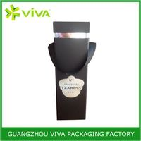 Logo Printed Beautiful Design wine box for 375ml bottle
