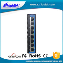 Gigabit industrial ethernet optical fiber switch