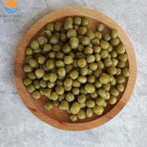 800g fresh material canned green pea in brine canned vegetable