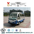 For Hotel Transport Luggage Goods Mini Electric Utility Truck with full roof for sale