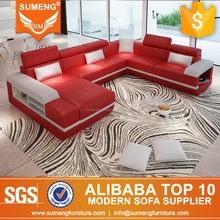 Top genuine Italian modern leather sectional sofa buy from China