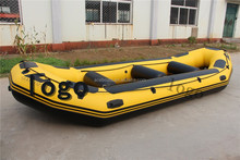 self draining pvc inflatable raft boat