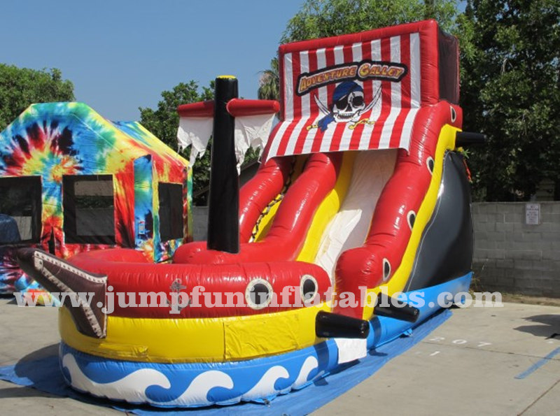 newly inflatable pirate ship slide,commercial bounce house,bounce houses for sale