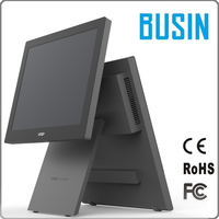 Factory cheap price dual touch screen all-in-one retail pos system machine