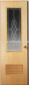 PVC Door Glass Design