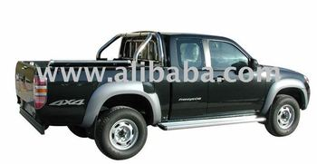 MAZDA BT50 STAINLESS STEEL ROLL BAR RB407+POD090 INOX