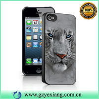 2015 Newest 3D Phone Case For iPhone 4 5 5S 5C Sublimation Case