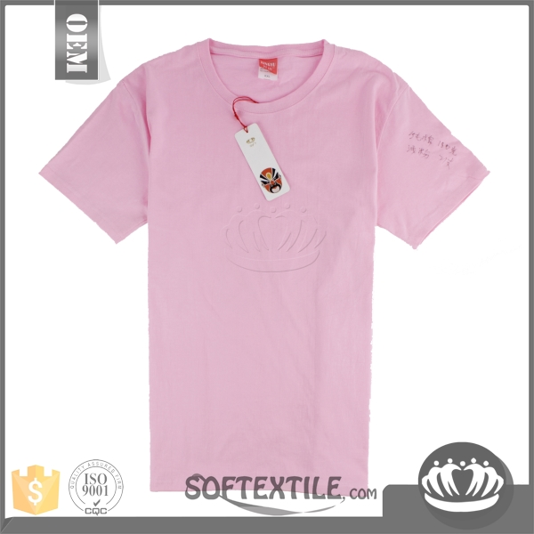 softextile 2016 newly high quality wholesale t shirts cheap t shirts in bulk plain from China supplier