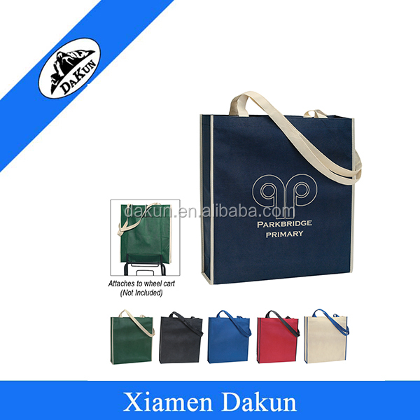 Non-Woven Convention Tote Bag With Wheel Cart DK14-2540/Dakun