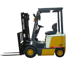 1.5T-3.0T, 1500-3000kg four Wheel Electric Battery Forklift Truck FB15-30, hot sale in Brazil