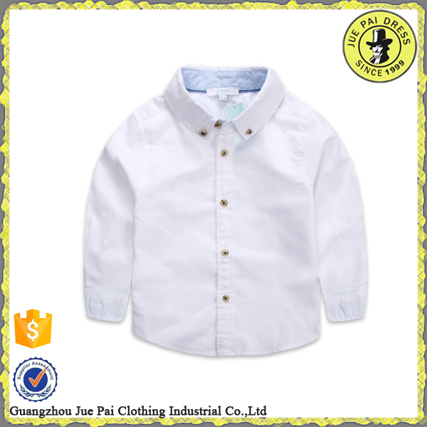 Wholesale Kindergarten Uniform, Children White Blue Shirts, Kids Model Clothes 2016