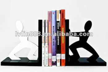 Man wooden bookend for office,bookend