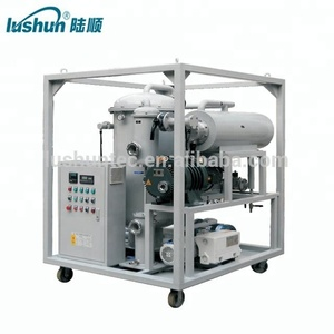 Double Stage Vacuum Used Transformer Oil Purifier /oil filtration machine 9000 L/H