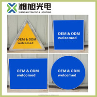 OEM High Quality small aluminum metal arrow sign blank