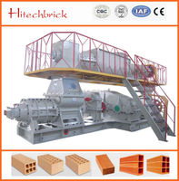 big fully automatic clay bricks machine plant vacuum extruder machine supplier