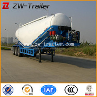 Used bulk cement tank semi trailer
