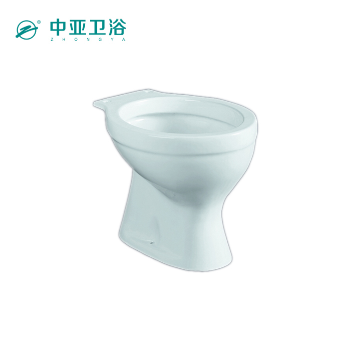 India toilet bowl white ceramic one piece toilet parts bathroom equipments