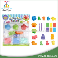 HOT!! plasticine modeling clay play dough set toy modeling clay with certificates