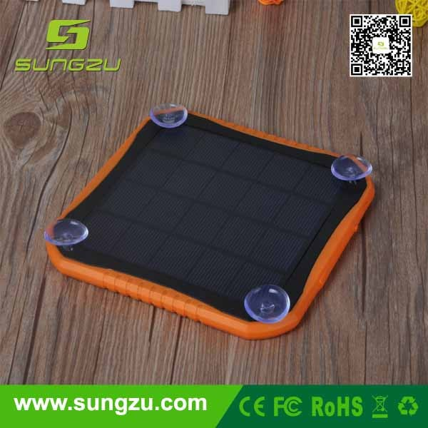 Flexible camping solar panel mobile charger & 5V USB backpack solar devices collect power from sun