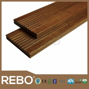 Middle Carbonized compressed bamboo flooring