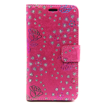 Peacock Pattern Mobile Phone Case,PU Leather 5 Colors For Samsung G850