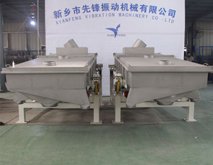 Red river sand dehydration linear vibrating screen