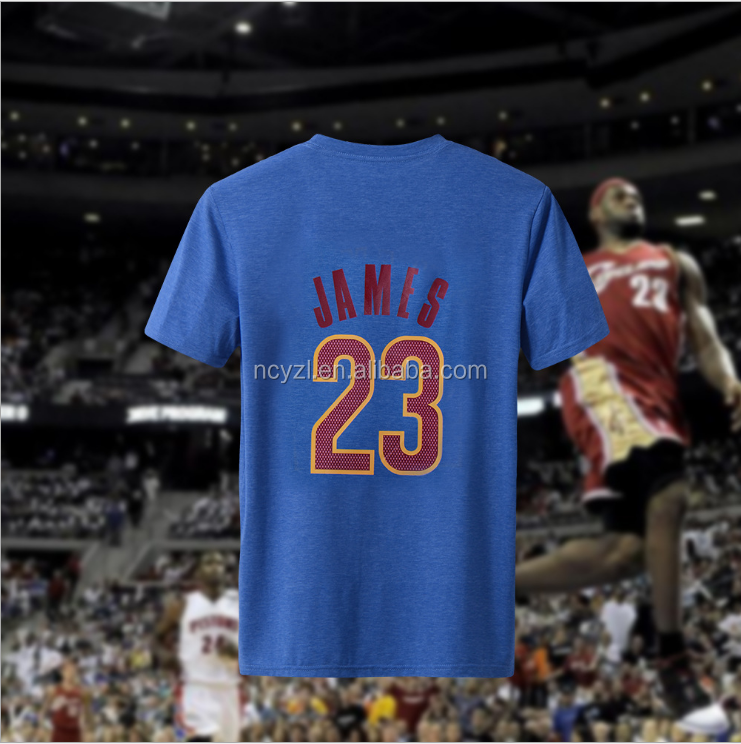 new design basketball jersey with same of the star player printing 23 uniforms basketball t shirt
