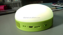 Popular item for new market phone answer or hang up Colorful Bluetooth Speaker With LED Light