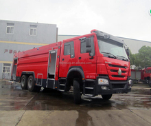 Howo 16000 litres water fire truck with good price