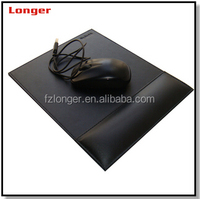 Hot selling new popular cute leather computer anti slip mouse pad LG6031D