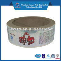 Hot sell 3.8cm Diameter Cable self adhesive labels