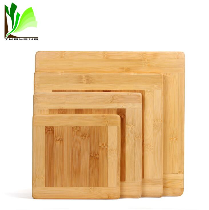 Original Customized Cheap Dry Square Kitchen Bamboo Cutting Board