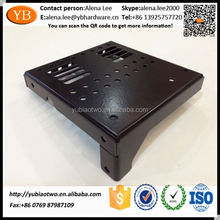 Custom Black Powder Coating Aluminum Case Aluminum Chassis ISO/TS16949 Passed