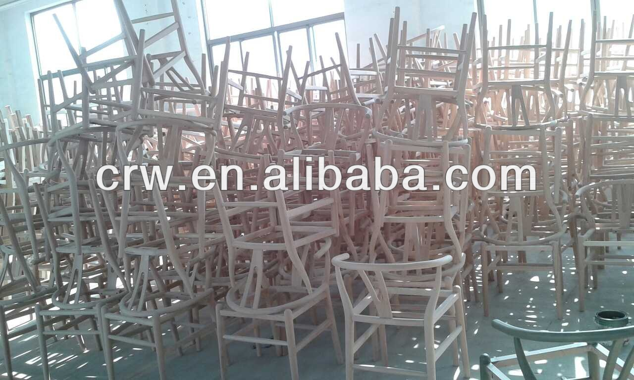 Wholesales Furniture Wooden hans wegner chair Y Chair For Dining Room Restaurant