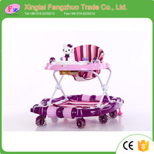 high quality use as horse rocking walkers cheap price 360 degree rotating baby walker with music and light