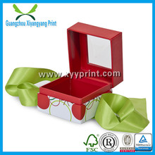 New Style Customized Small Jewelly Box Design With Low Price
