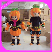 holiday dress cute pumpkin mascot costume fancy party dress suit carnival costume for cosplay