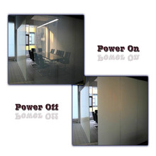 Self adhesive pdlc smart film