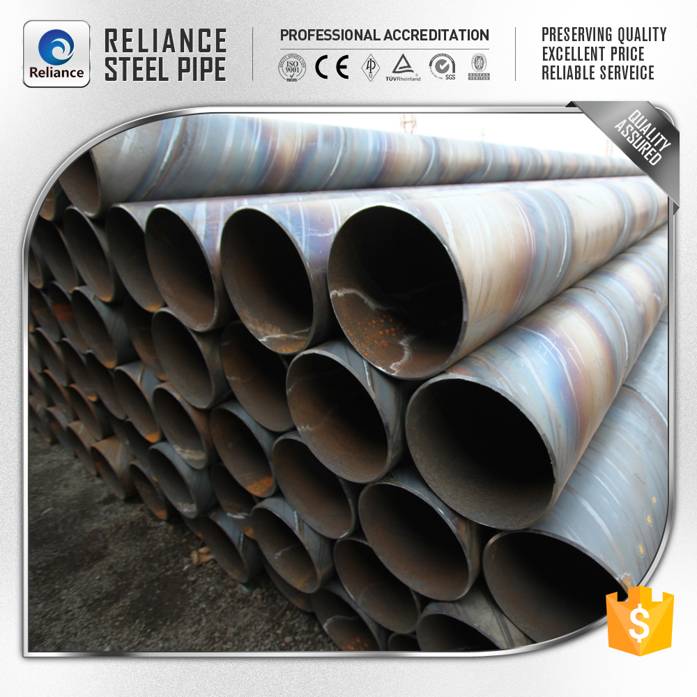 SPIRAL WELDED STEEL WATER INLET PIPE