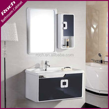ROCH 8024 Best Seller Plywood Bathroom Vanity OEM With Mirror Cabinet