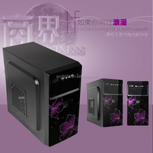 Wholesale black color computer gaming case