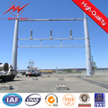45ft power line support tubular tower steel pole price