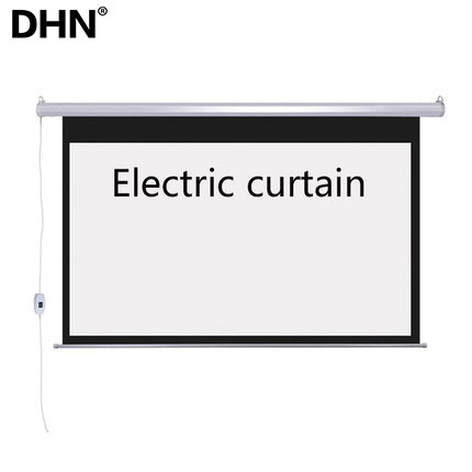 120 inch electric automatic projector screen wall mount motorized projector screen 16:9