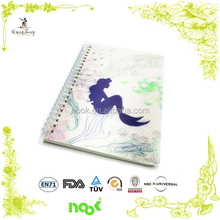 Top Quality metal cover spiral notebook, drawing books for students, laser cut cardboard cover notebook
