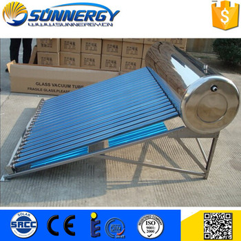 China Supplier solar water heater aluminium alloy 5 years warranty