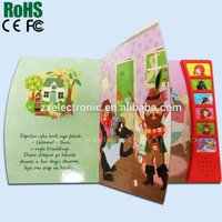 Children/Baby Educational Recording Voice Recordable English Talking Books/Sound Books/ Music Books