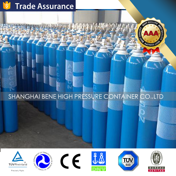Hot sales! Made in china industry Steel oxygen gas cylinder price with CE/DOT/ISO/EU Standard